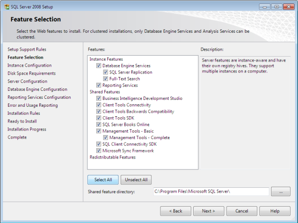 sql7 - Langkah-Langkah Instalasi Sql Server 2008