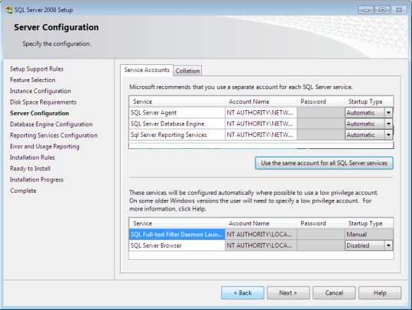sql9a - Langkah-Langkah Instalasi Sql Server 2008