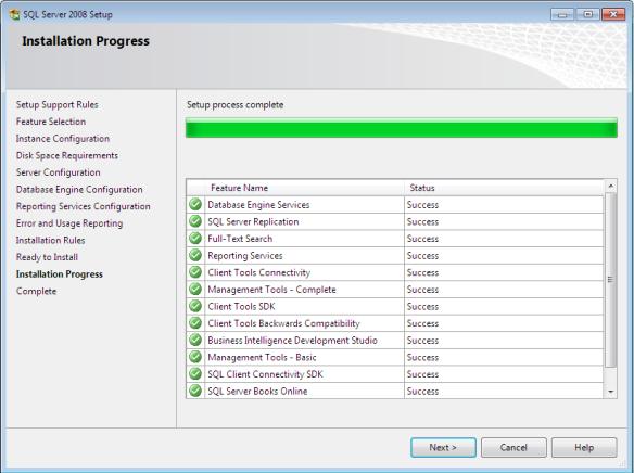 sql9h - Langkah-Langkah Instalasi Sql Server 2008