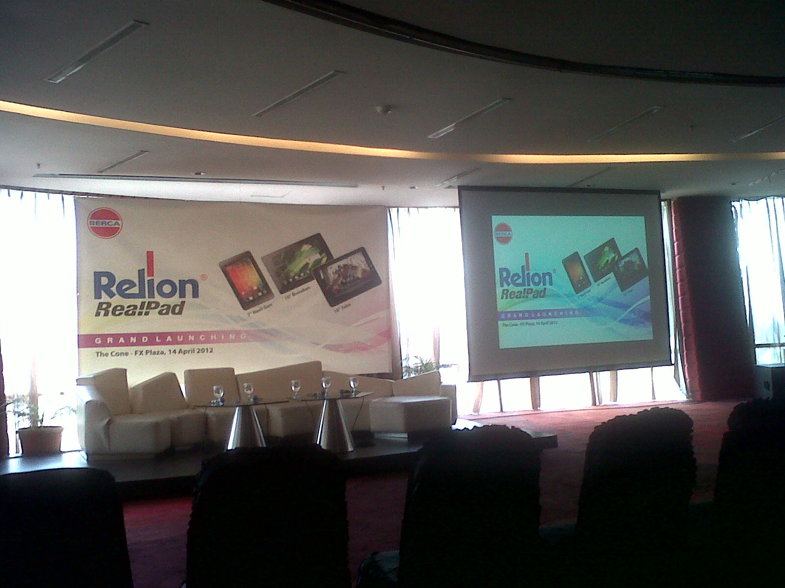 Review Acara Grand Launching Relion RealPad Bunaken