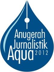 Logo Anugerah Jurnalistik Aqua 2012