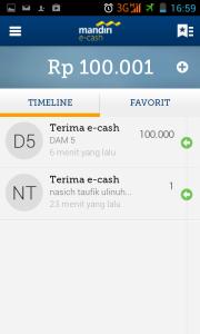 home mandiri e-cash