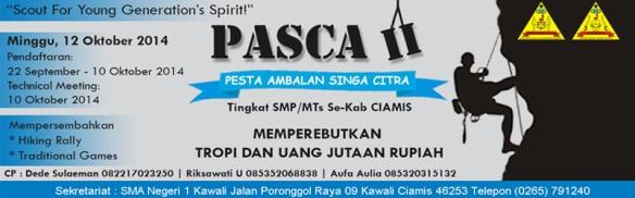 Pesta Ambalan Singa Citra (PASCA) II 2014