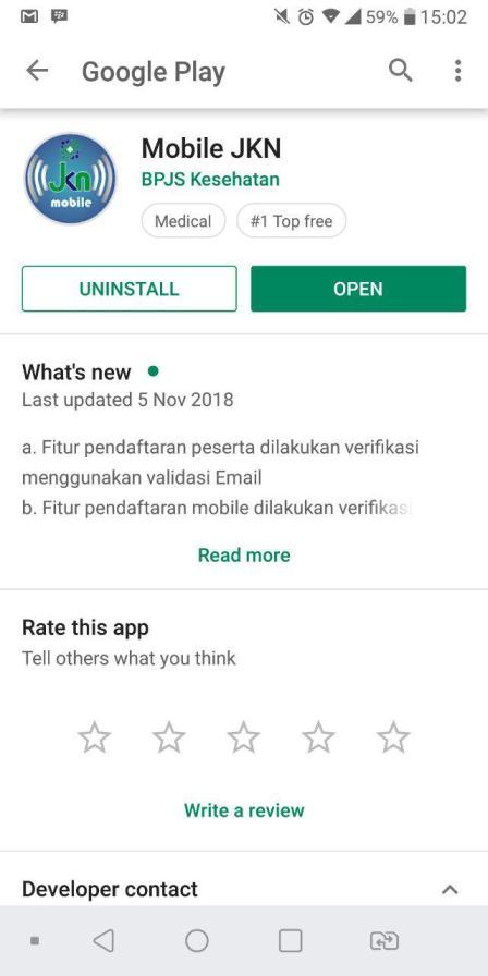 aplikasi mobile JKN BPJS Kesehatan