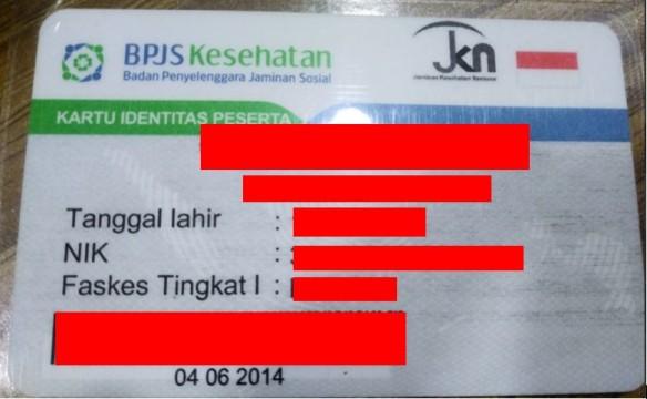 kartu identitas peserta bpjs kesehatan